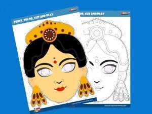 Durga Ma mask