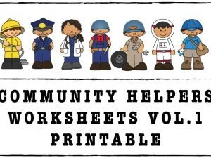 Community Helpers Vol.1