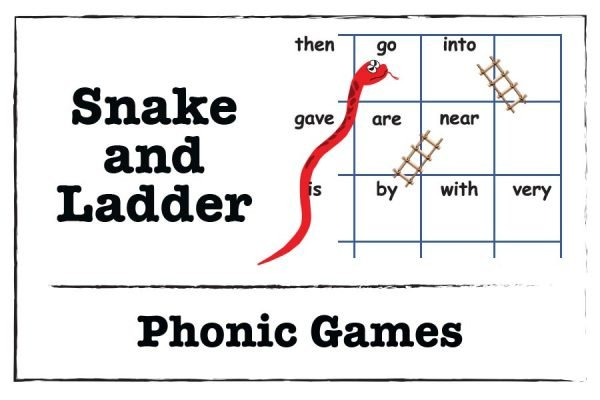Snake-and-ladder-sight-word-vowel a activity - phonics-game